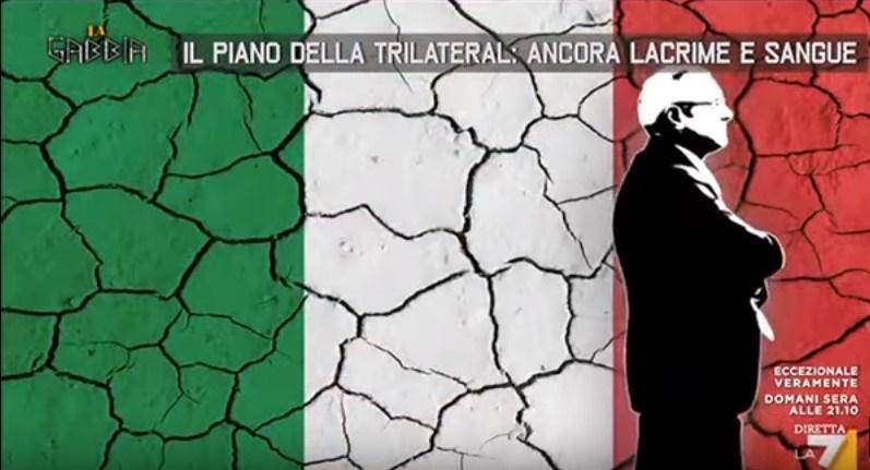 Il piano della commissione trilaterale:ancora lacrime e sangue per l' Italia.VIDEO DA NON PERDERE