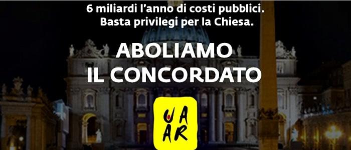 Concordato: La chiesa costa allo stato italiano dai 6 ai 9 miliardi l'anno