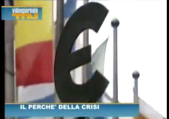 QUESTI sono i REALI motivi della crisi!Finalmente una tv che ne parla