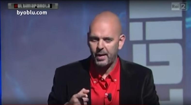"""La piú GRANDE denuncia mai fatta nella storia in una TV pubblica: """"Bisogna dire la Verità agli italiani"""".VIDEO"""