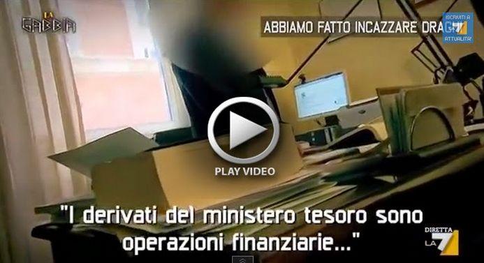Sapete cosa sono i derivati SEGRETI?E' il debito creato da Draghi che ogni Italiano PAGA...VIDEO