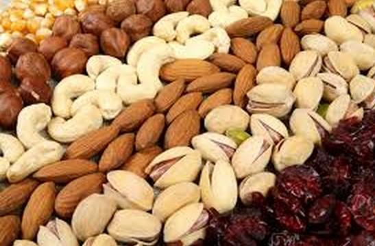 Frutta secca:Fa bene alla salute,al metabolismo e al cuore