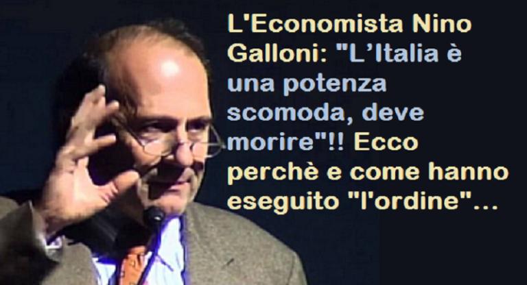 """L'Italia era una grande potenza""""scomoda"""",doveva morire,e così è stato"""