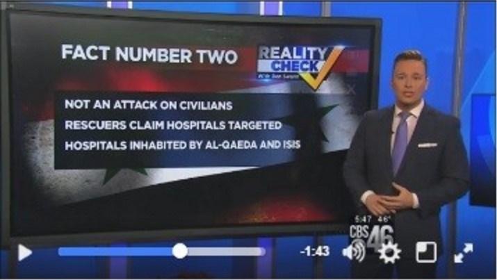 """Giornalista della CBS attacca le bufale dei media sulla Siria: """"Se Assad sta commettendo un genocidio, perche' le persone festeggiano?"""""""