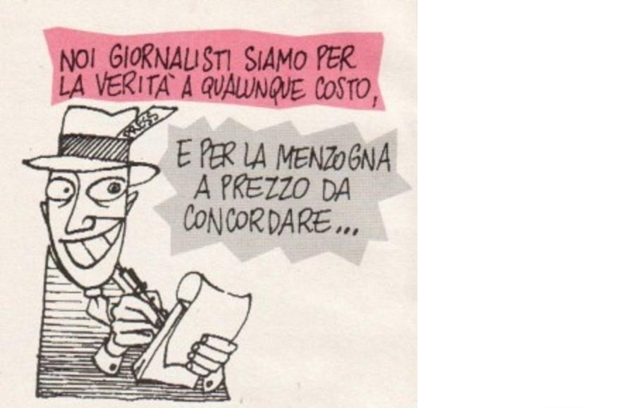 Esistono ancora i VERI giornalisti? Con l'Italia al 77° posto per quanto riguarda la libertà di stampa, sono veramente pochi quelli che sono imparziali.
