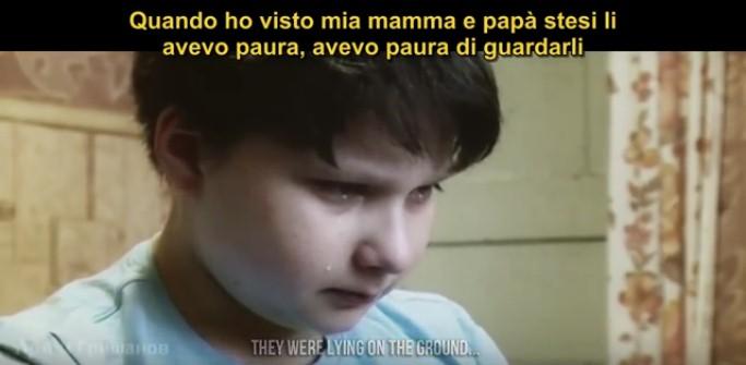 Il terrore della guerra vissuto dai bambini in Ucraina,indifesi e dimenticati dai media...VIDEO SHOCK