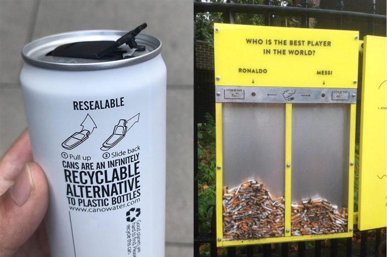 Ecco alcune idee intelligenti per salvare il pianeta. C'è chi parla e chi si attiva