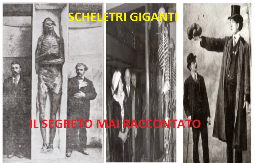 Scheletri giganti del Winscosin: il segreto mai raccontato
