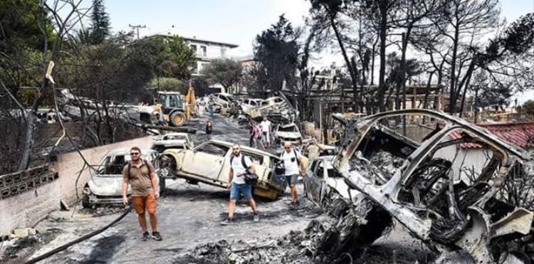 Incendi Grecia: tutto normale?Forse è il caso di chiarire.Ciò che non dicono