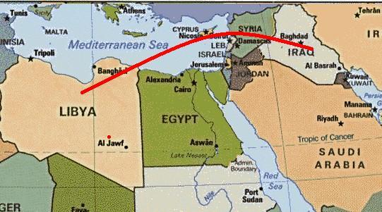 L'ISIS è maggiormente insediato dove c'erano:Saddam,Assad e Gheddafi,tutti nemici Usa.E' un caso?