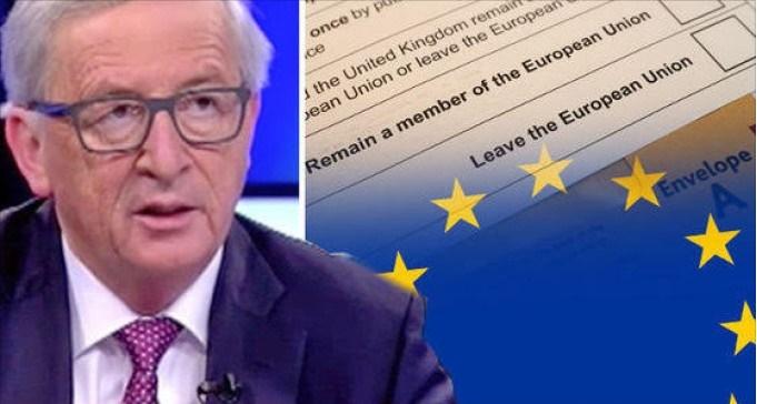 Juncker supplica i leader europei di non tenere referendum sull' EXIT.Il popolo potrebbe scegliere di abbandonare l'UE