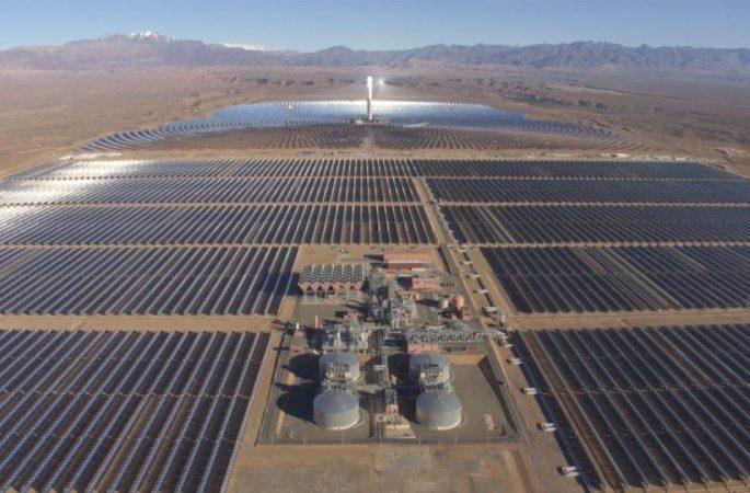 Il Marocco nella storia con la più grande centrale di energia solare al mondo