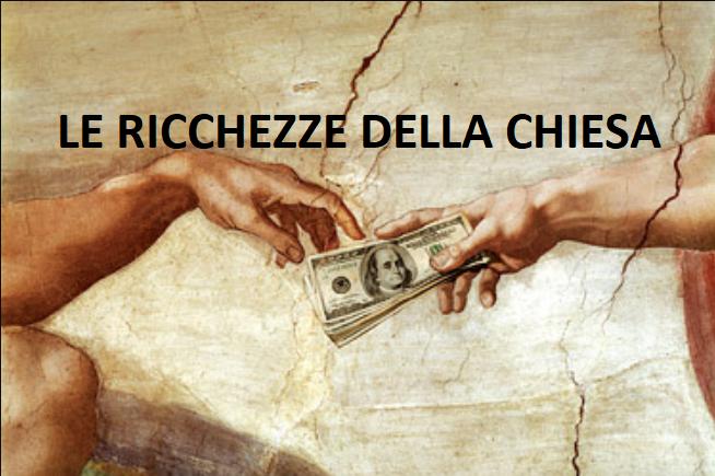 Le immense ricchezze della chiesa cattolica e del Vaticano