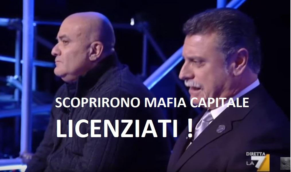 """Mafia capitale. 2 poliziotti:""""nel 2003 già scoprimmo tutto ma fummo fermati"""""""