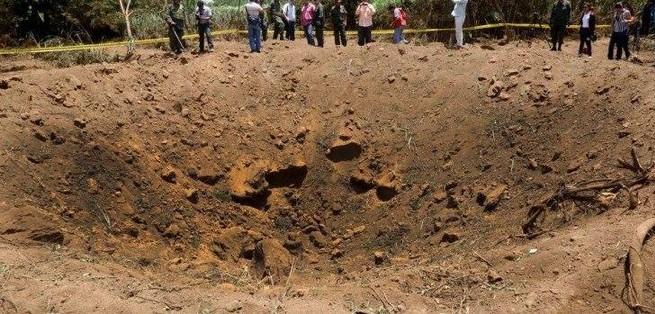 Era largo 30cm ma fa un cratere di 15metri!Cade meteorite a Nicaragua,tragedia sfiorata
