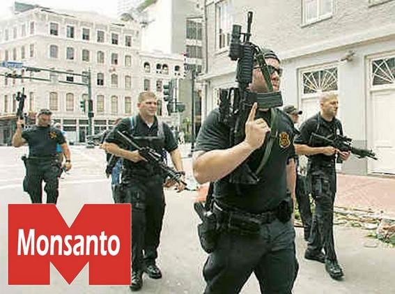 Per imporci i suoi semi la Monsanto compra un esercito:i mercenari della Blackwater