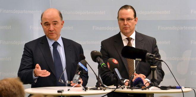 Moscovici:La Francia può sforare il 3%,l'Italia nemmeno il 2%.Italexit subito