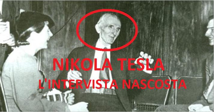 Nikola Tesla: l'intervista nascosta per oltre 116 anni