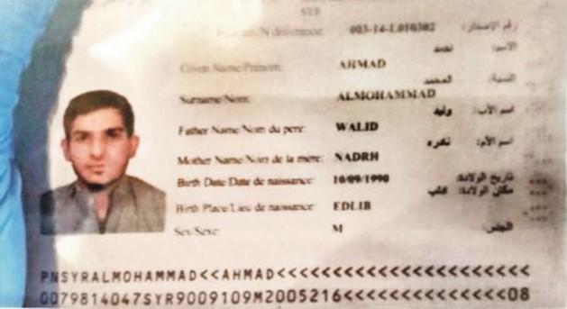 """Il Ministro degli interni tedesco: """"il passaporto siriano vicino all'attentatore di Parigi messo di proposito"""".Da chi?"""