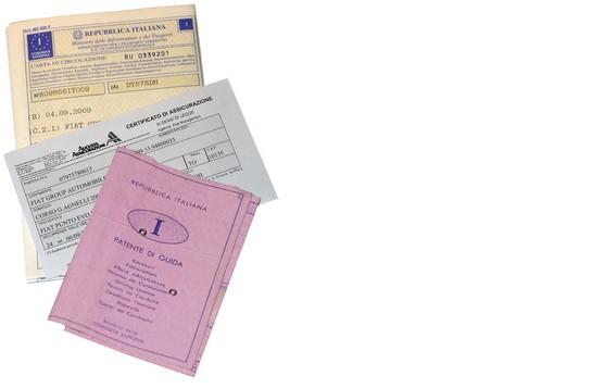 ATTENZIONE!Dal 3 novembre patente e libretto dovranno avere lo stesso intestatario!