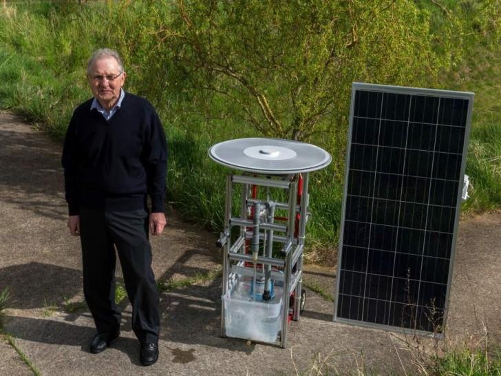 Inventa un motore solare capace di funzionare 25 Anni SENZA MANUTENZIONE. IL VIDEO