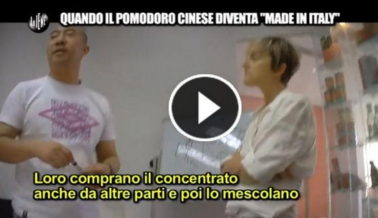 """Pomodoro AVARIATO proveniente dalla Cina. Etichettato """"Made in Italy"""" dai nostri Grandi Marchi.VIDEO"""