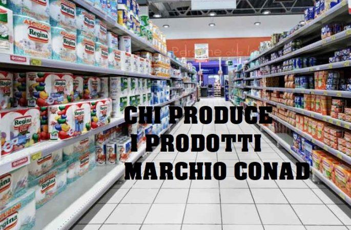 Prodotti marchio Conad:chi produce i prodotti conad?Ecco le aziende
