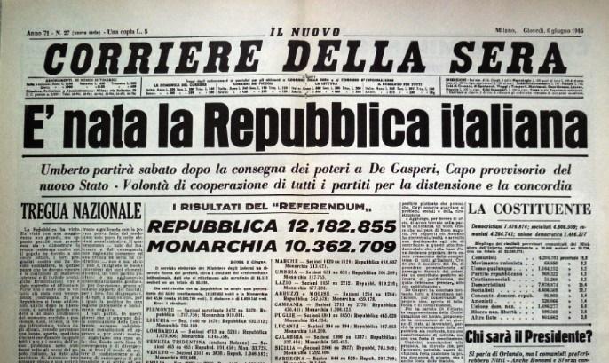 """""""Il Referendum del 46 fu truccato, mio padre vide tutto"""".La confessione shock di un carabiniere"""
