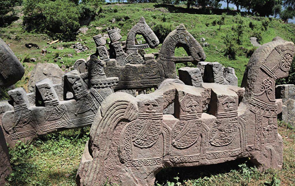 resti civiltà sconosciuta Himalaya