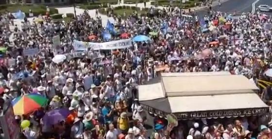 Roma: In 10mila in piazza contro il decreto sui vaccini. VIDEO