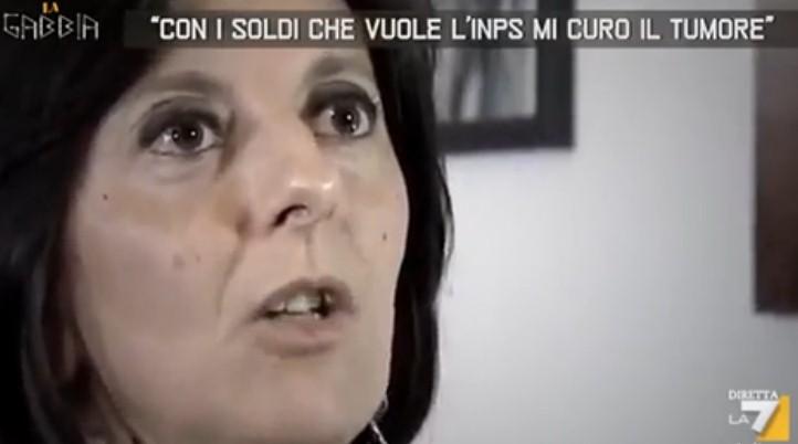 """""""Non pago più le tasse per curarmi il tumore"""".La rivolta di Daniela abbandonata dallo stato.VIDEO"""