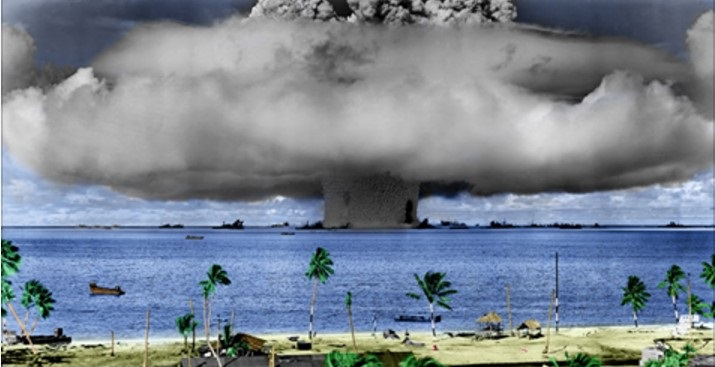 I test atomici di Francia e USA che hanno sempre cercato di insabbiare