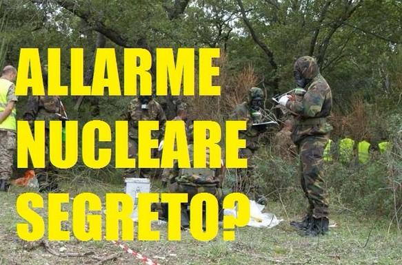 ALLARME nucleare segreto in Sardegna,zona radioattiva chiusa.Il governo invia esperti