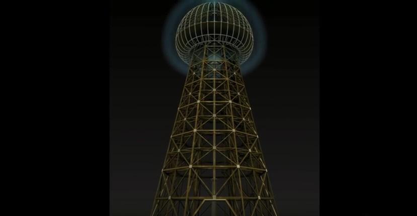 Due fisici russi ricostruiscono la torre di Nikola Tesla. IL VIDEO