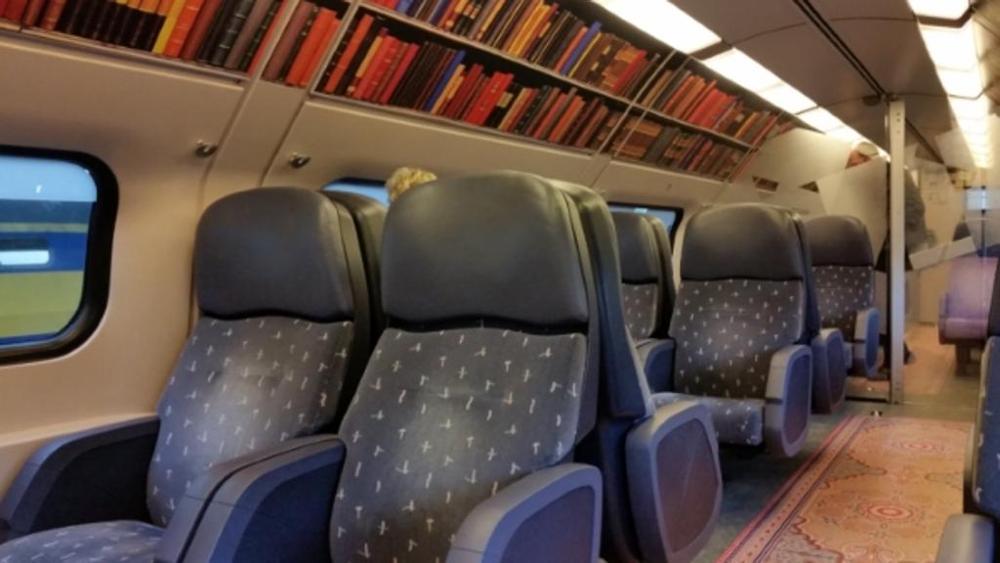 I treni olandesi si trasformano in biblioteche viaggianti