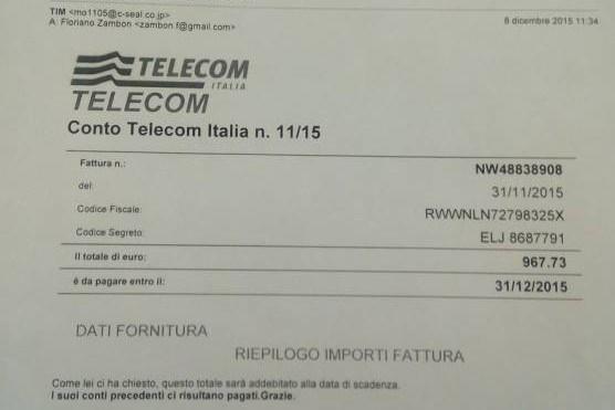 Ecco la nuova MAXI-TRUFFA su Enel, Tim-Telecom e Agenzia delle entrate.