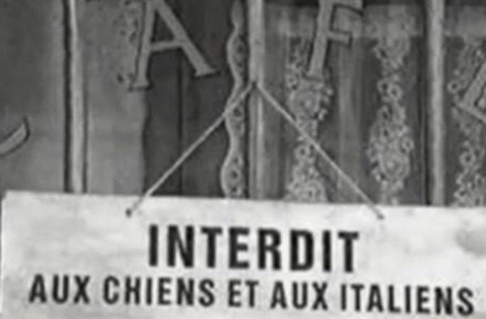 """Quando fuori dai locali scrivevano:""""vietato l'ingresso ai cani e agli italiani"""""""