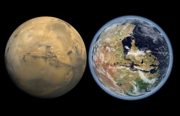 La vita su Marte potrebbe essere esistita appena 200mila anni fa.Ecco le prove.VIDEO