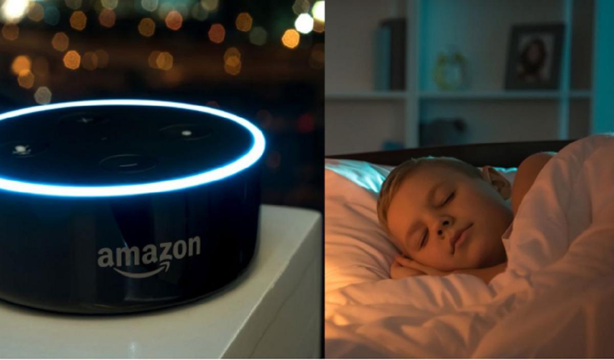Alexa Amazon per leggere le favole della buonanotte
