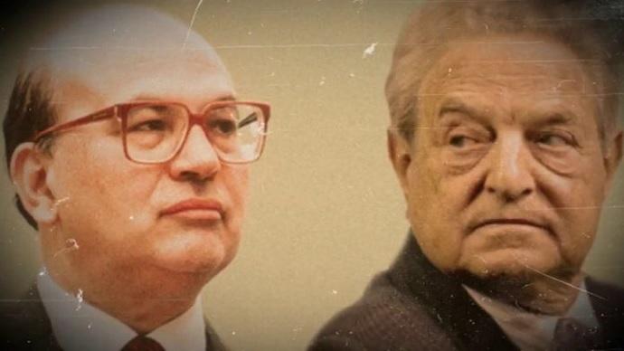 Craxi: L'unico che ebbe il coraggio di fare il nome di Soros in diretta tv. Video