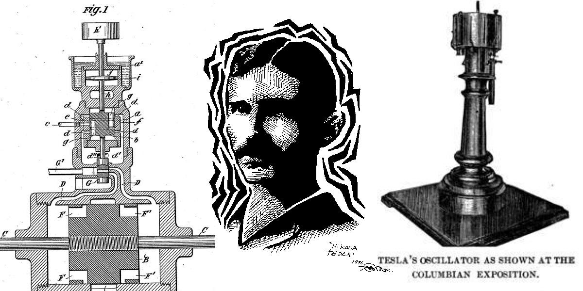 Le invenzioni di Nikola Tesla che avrebbero cambiato il mondo oscillatore