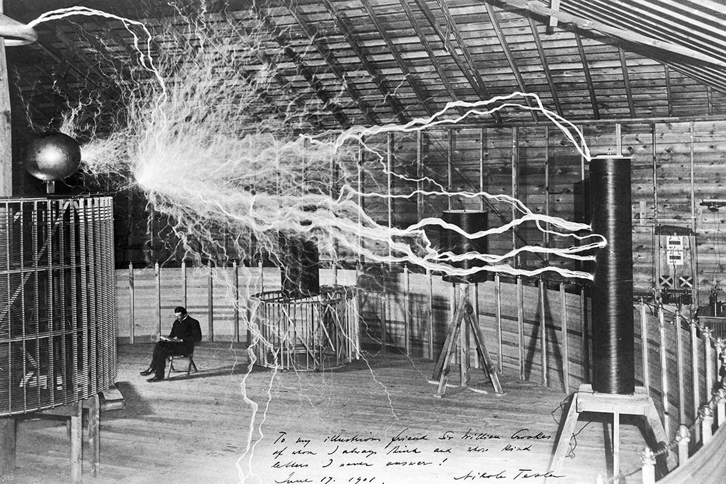 Le invenzioni di Nikola Tesla che avrebbero cambiato il mondo raggio della morte