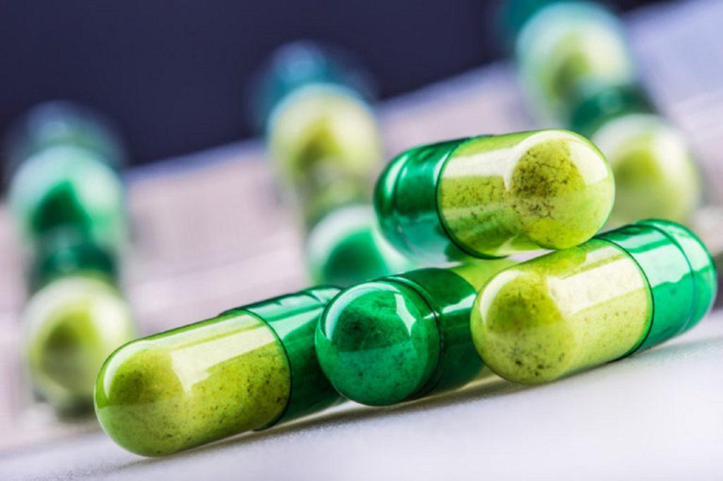 cannabis in capsule
