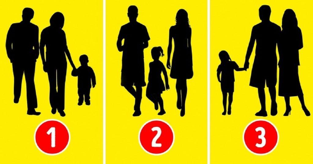 test psicologico - Quale non è una famiglia normale