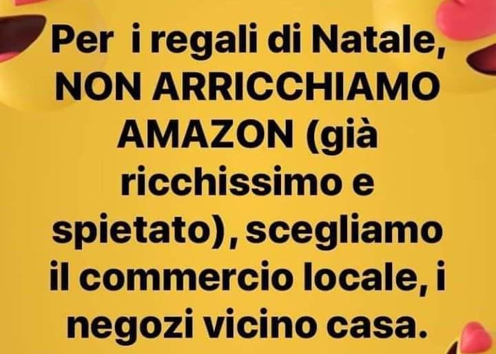 """Alfio Pugliese (Confcommercio): """"Per i regali di Natale non arricchiamo Amazon ma scegliamo il commercio locale!"""""""