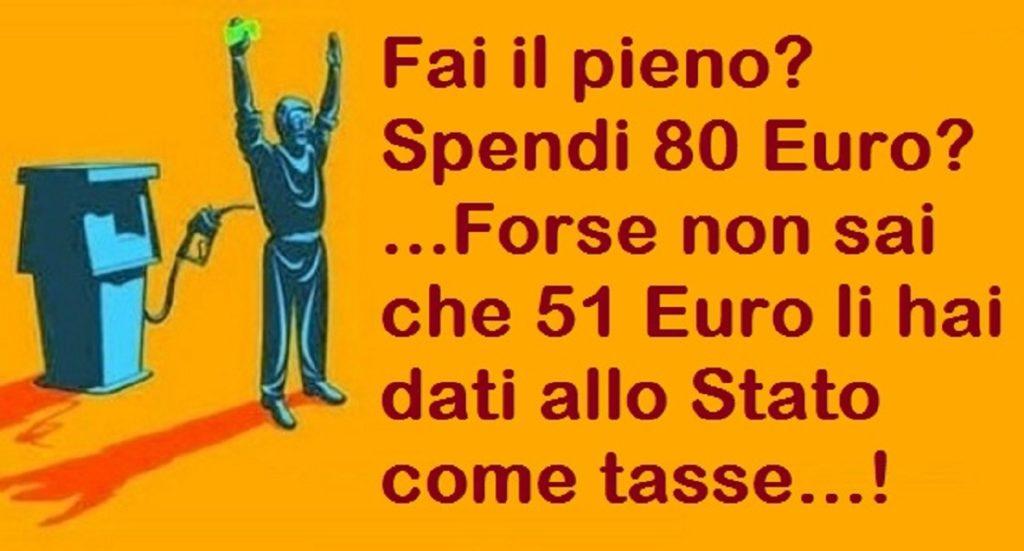 prezzi benzina folli in Italia