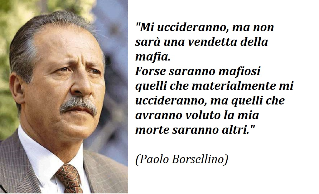 PaoloBorsellino ultima intervista