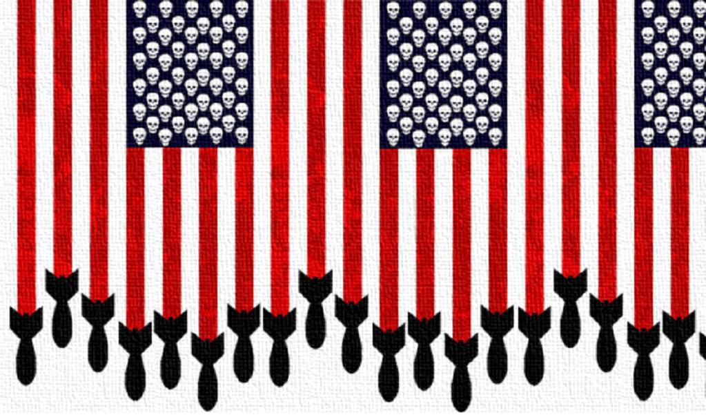 bombe sganciate dagli Stati Uniti