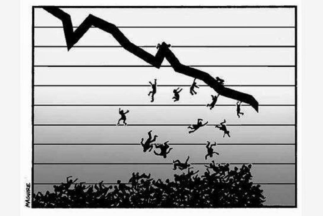 Questa non è una crisi economica, ma un piano di sterminio. E questo è un dato di fatto