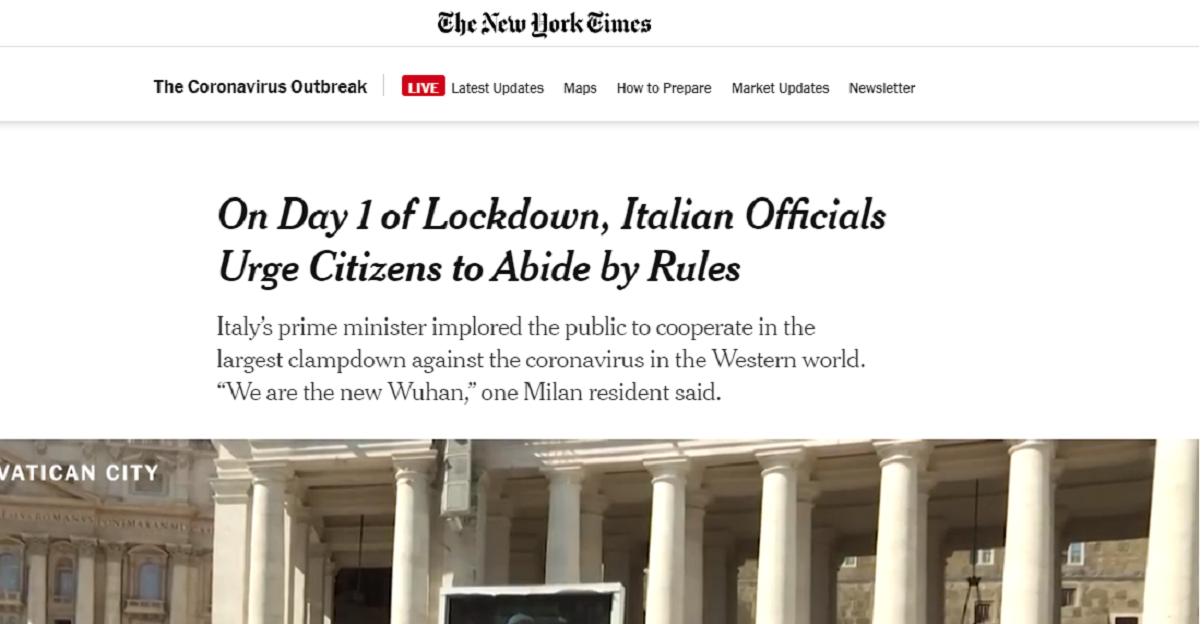 Il New York Times sbeffeggia gli italiani: usano la furbizia per aggirare le regole